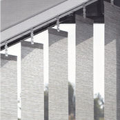 Luxaflex Semi-Transparent Grey & Black - 127mm